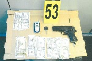 BB gun used in the crime