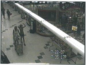 Jennifer Hawke-Petit and 11 year old Michaela Petit at the grocery store where Joshua Komisarjevsky spotted them