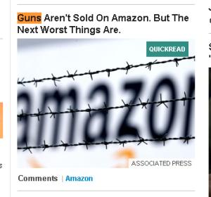 Headline from Huffington Post
