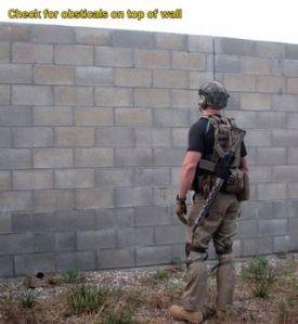 Wall climb 1