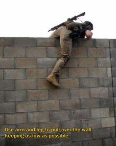 Wall climb 5