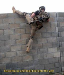 Wall climb 4