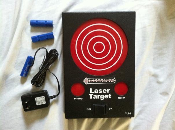 LaserLyte Laser Target and Battery Eliminator